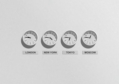 世界各地の時間
