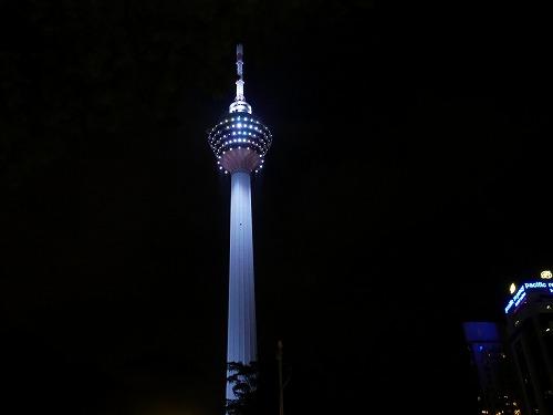 クアラルンプールのKLタワー
