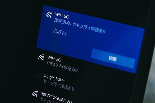 Wi-Fi接続設定