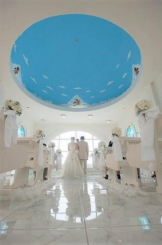 グアムでの結婚式(エンジェルチャペルでの挙式)