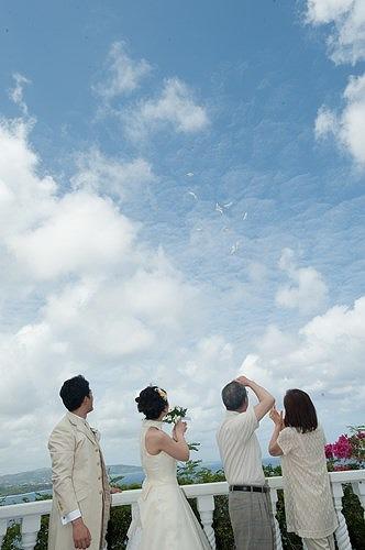 グアムでの結婚式