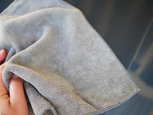 クルマを拭く布