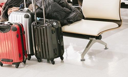 ハードタイプのスーツケース